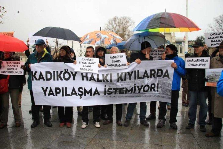 Kadıköy halkı kıyılarda yapılaşma istemiyor!