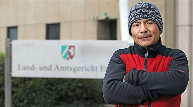Perulu çiftçi Almanya'nın kömür devine karşı