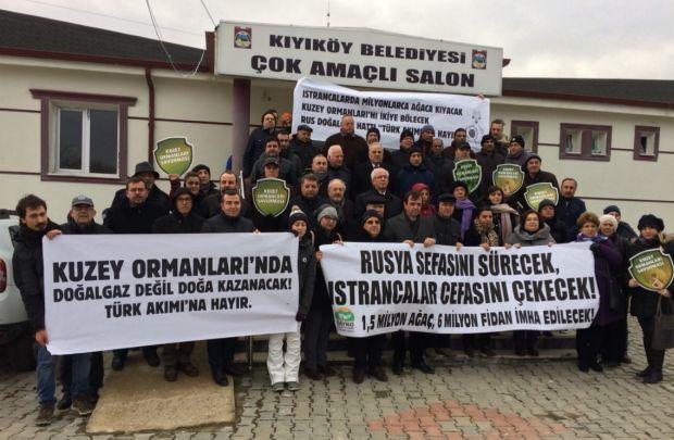 Halk Kıyıköy'de Türk Akımı projesi ÇED toplantısını yaptırmadı!