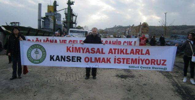 Silivri Çevre Derneği: Seymen köyü İstanbul'un çöplüğü olmasın, Silivri'de tehlikeli atık tesisi istemiyoruz