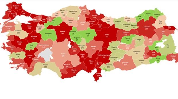 TMMOB, hava kirliliğinin en yüksek olduğu illeri açıkladı, İstanbul, Ankara, Adana ilk sırada