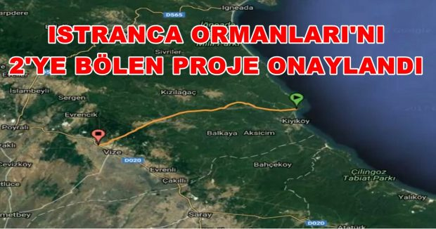 Saray Belediyesi'nden Trakya'nın doğasını katledecek Türk Akımı projesine olumsuz görüş