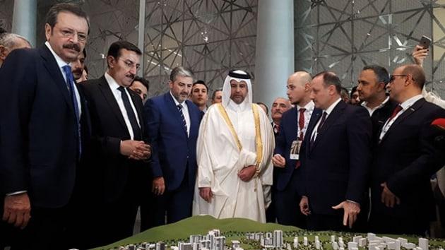 """""""Kanal İstanbul"""" yağması başladı. İstanbul'un orman, tarım ve sulak alanları Katar Fuarı'nda pazarlanıyor!"""