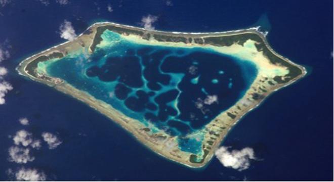 Bravo, Romeo, Nectar ya da Pasifik'te bir ada olmak