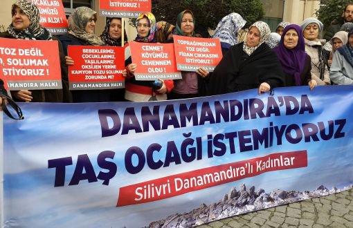 """Danamandıra Köylüleri: """"Dinamitlerinizi ve Hafriyat Kamyonlarınızı Alın Gidin"""""""