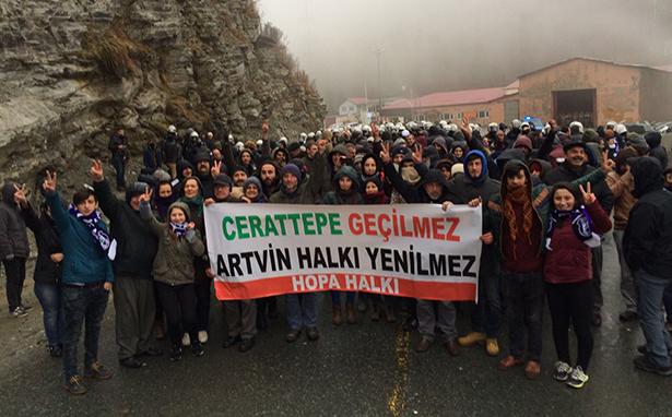 Cerattepe'de maden istemeyenler 16 Ocak'ta Meclis'te