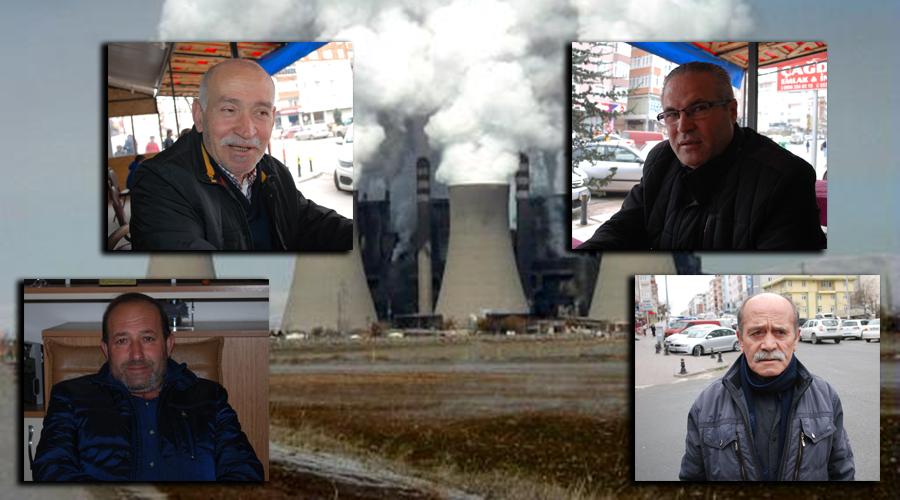 Çerkezköy ve Kapaklı'da esnaf da halk da bölgeye kömürlü termik santral kurulmasını istemiyor