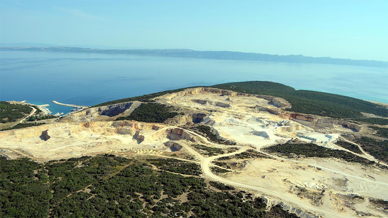 Saros Körfezi kıyısındaki ormanları katleden, kalker ve taş ocaklarına mahkemeden 'ÇED gereklidir' kararı