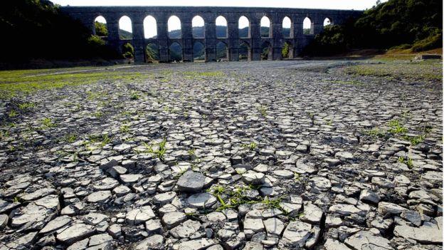 İstanbul içme suyunun tükenmesi riski olan 11 kentten biri