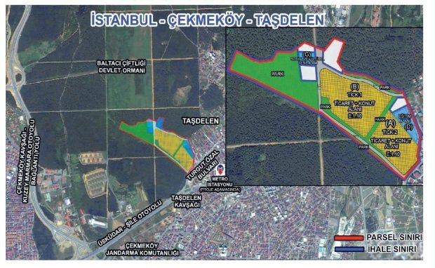 Çekmeköy'de askeri alan satışa çıkarıldı