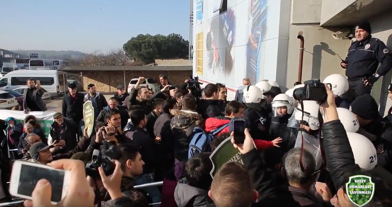 Trakya halkı termikçilere ÇED toplantısı yaptırmadı! #DirenTrakya #DirenKuzeyOrmanları