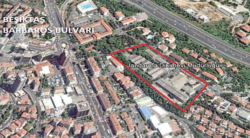 Hani yeşil alan yapacaktınız. Beşiktaş'taki 30 dönümlük askeri alanı imara açıyorlar!