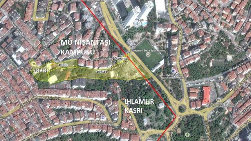 """İktidarın kamusal alan yağması tam gaz: TOKİ'nin çöktüğü Marmara Üniversitesi Nişantaşı Kampüsü planı """"Ticaret+Konut"""" oldu!"""