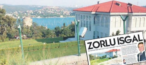 Zorlu'nun villasına koruma kalkanı