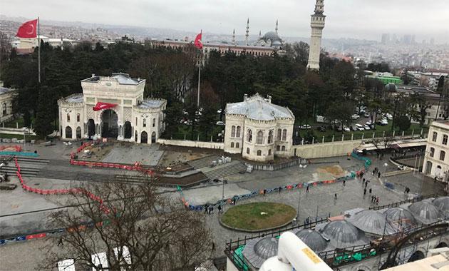 İBB Beyazıt Meydanı projesini durdurdu