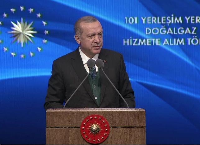 Erdoğan: Üçüncü nükleer santral için hazırlıklarımızı yürütüyoruz