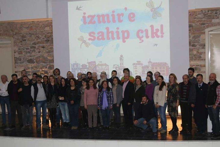 İzmir'e Sahip Çık Platformu kuruldu