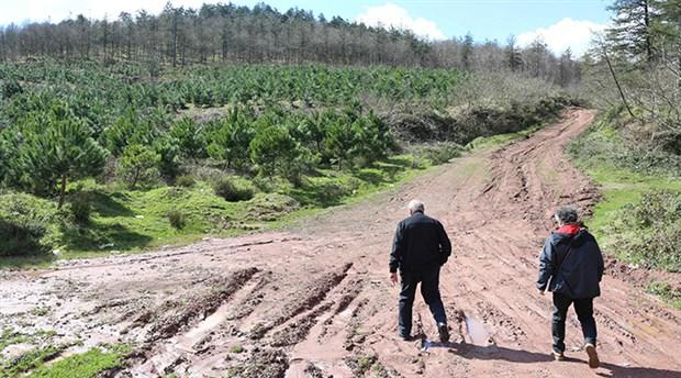 """İzmit'te ormanın ortasına atık yakma tesisi planına tepki: """"Ciğerlerimizi yok ediyorlar!"""""""