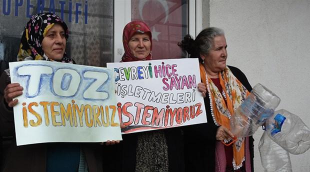 Kuzey Ormanları Kapaklı Köyü kadınları taş ocağı şirketine ÇED toplantısı yaptırmadı