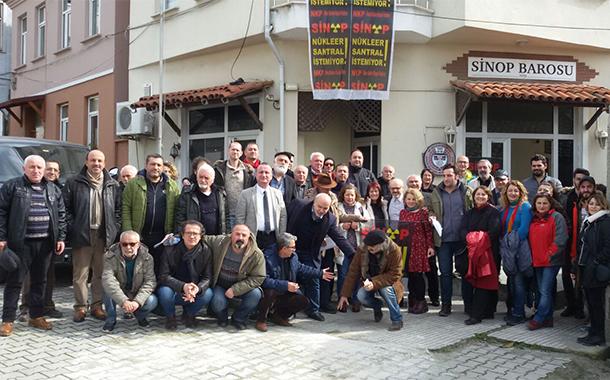 Sinop Nükleer Karşıtı Platform Genel Kurulu: Nükleer santrale izin vermeyeceğiz