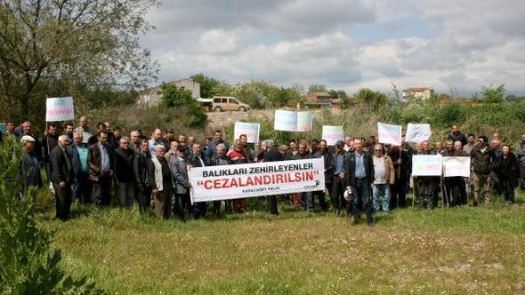 """Bursalı köylüler isyan etti: """"Fabrikalar Karadere'yi zehirliyor, yetkililer göz yumuyor"""""""