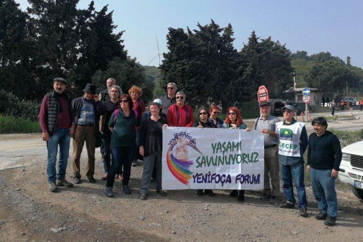 Socar Termik santrali davasında bilirkişi keşfi yapıldı
