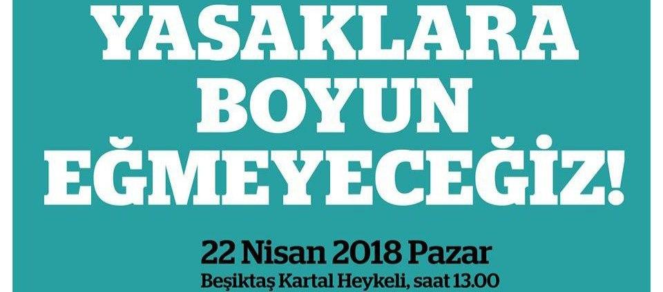 Nükleere karşı yaşamı savunanlar Pazar 13.00'da Beşiktaş'ta bir araya geliyor