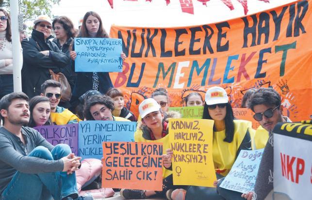 Sinop engel tanımadı: Bu memleket bizim