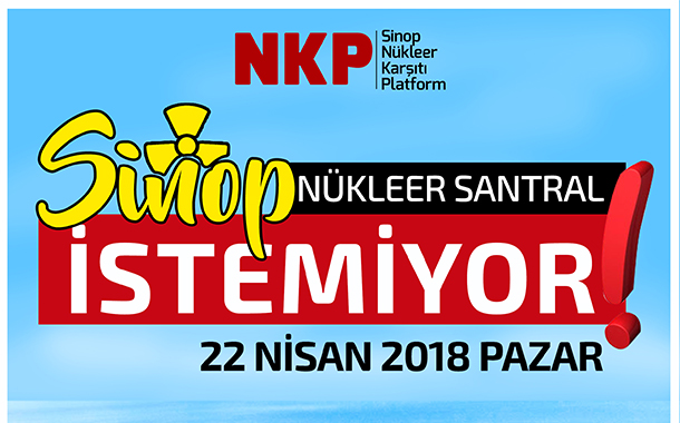 """Sinop NKP'den 22 Nisan'da miting çağrısı: """"Balkona değil, sokağa çık"""""""