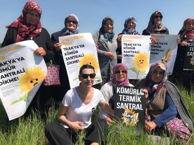 Yaşam alanlarına termik santral yapılmak istenen Trakyalı köylüler: Köylüyüz diye bizi cahil sanıyorlar
