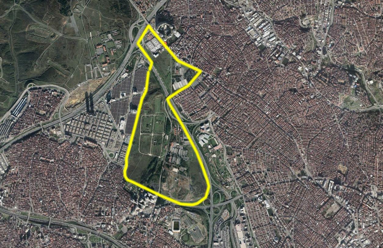 AKP'nin Askeri alan yağması sürüyor: Metris askeri cezaevi alanı yapılaşmaya açıldı! #DüşmanYapmaz