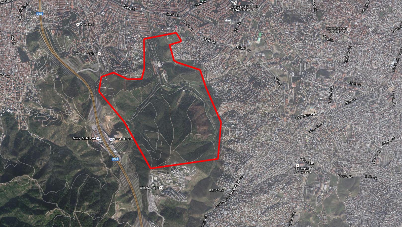 Askeri alan yağması İzmir'de: AKP Poligon'daki 180 dönümlük araziyi yapılaşmaya açmaya çalışıyor