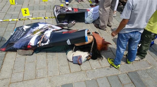 Büyükada'da fayton işkencesi protesto edildi