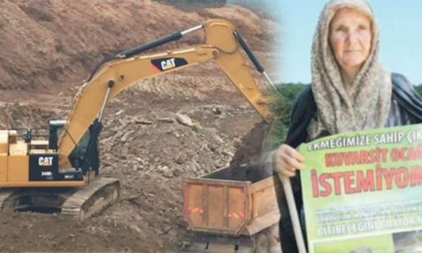 Tekirdağ Kuzey Ormanları'na yine taş ocağı tehdidi