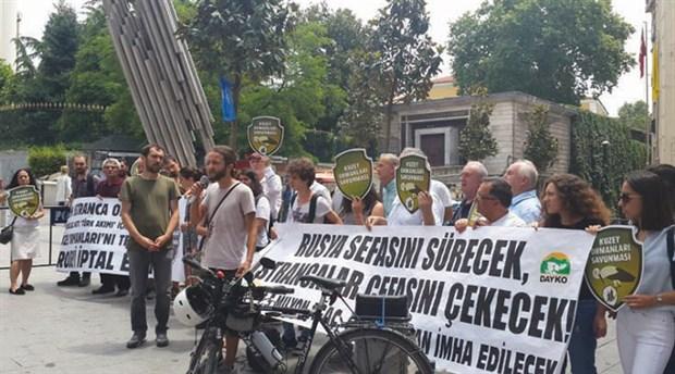 'Türk Akımı' projesine tepki: Ekosistemi ve yaban hayatını yok edecek