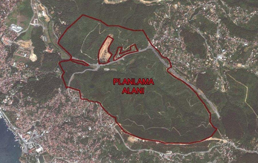 Beykoz'da özel ormana 553 villa!