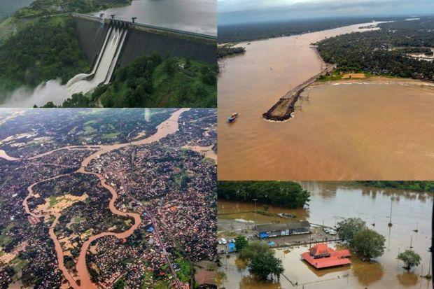İklim değişikliği Hindistan'da etkili oldu: Aşırı yağışların yol açtığı selde ölü sayısı 164