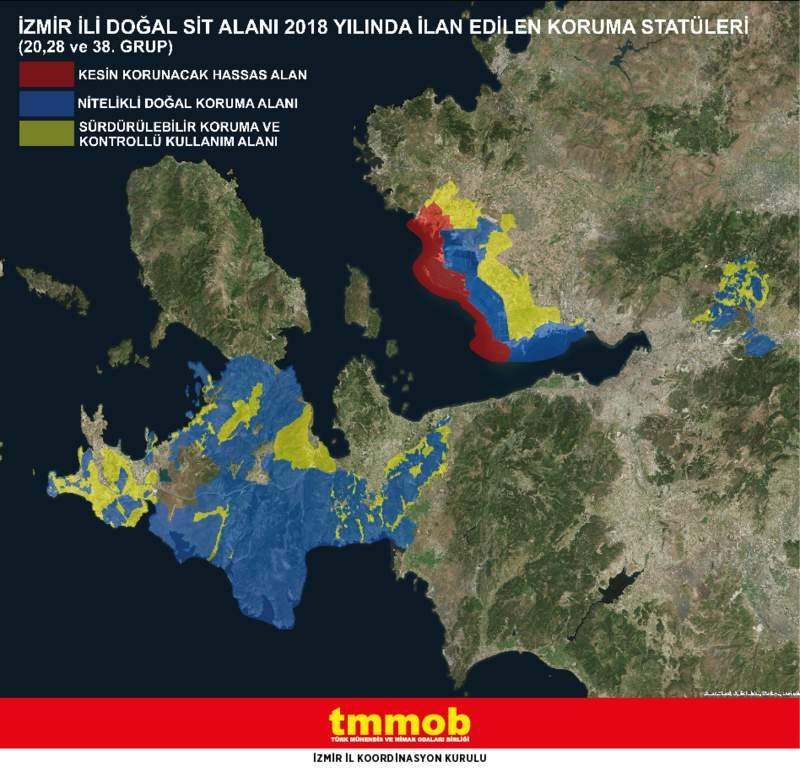 'İzmir'de birçok bölgenin sit dereceleri değiştirildi'