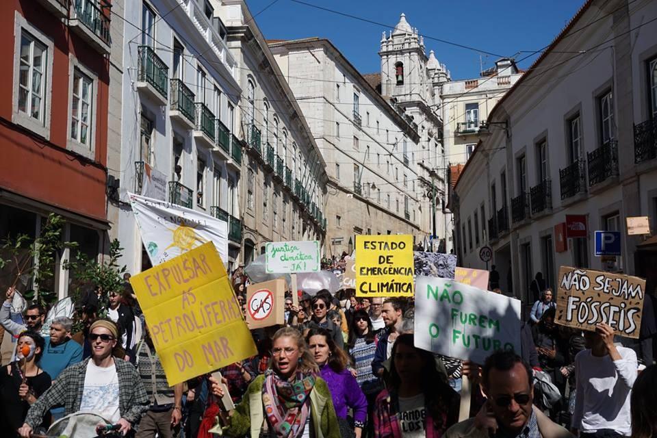 Portekiz'in fosilsiz hareketi, Aljezur sondaj tehdidi yaklaştıkça baskıyı artırıyor
