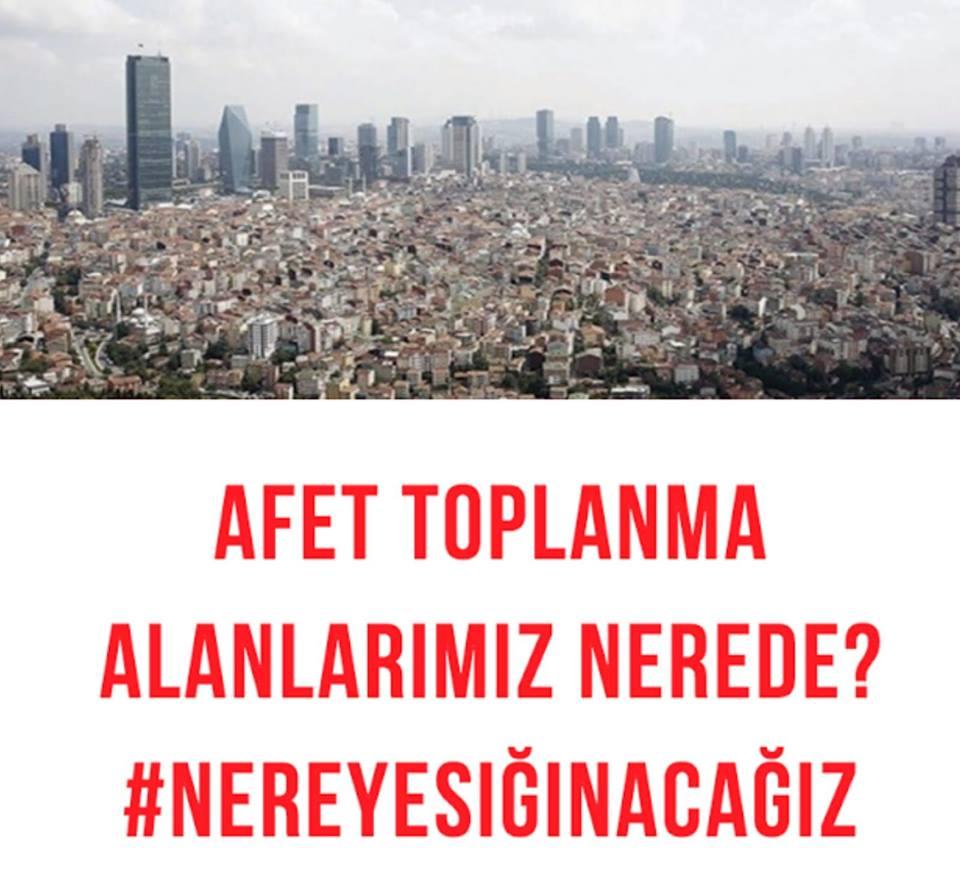 İstanbul Kent Savunması 17 Ağustos depreminin yıldönümünde bir Kez daha sordu: #NereyeSığınacağız?