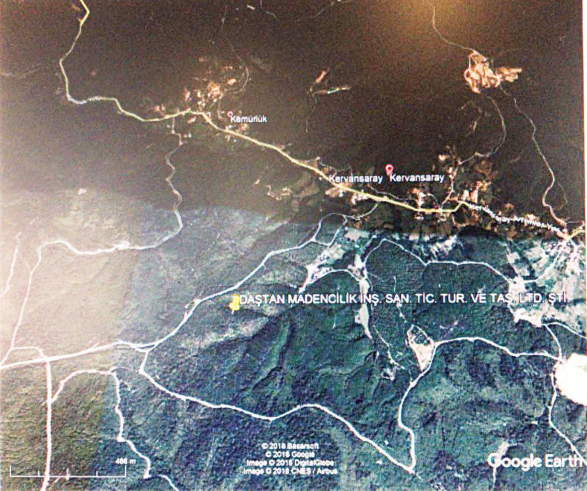 Şile Yeşilvadi'de maden sahasına ÇED'siz izin verildi