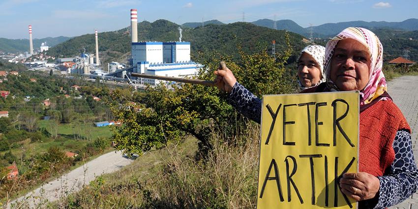 7 termik santralin zehre boğduğu Çatalağzı'na yeni santral ölümcül bir darbe olacaktır