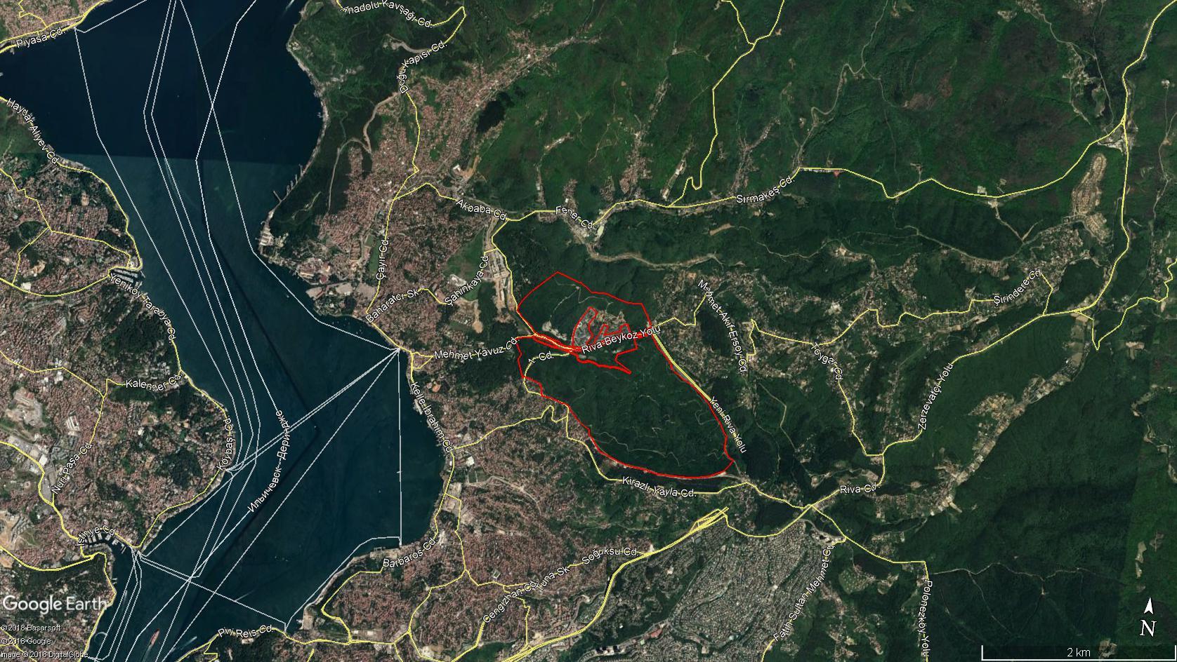 Kalyon İnşaat Kuzey Ormanları'na yapıştı, Beykoz'da ormana 553 villa yapacak. #DüşmanYapmaz