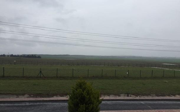 Silivri'de tarım alanının ortasına doğalgaz tesisi