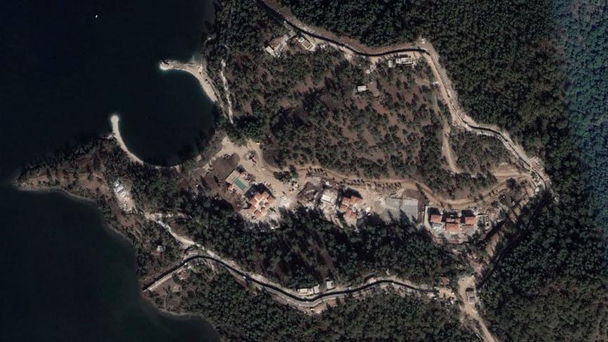 İşte doğa katliamı yapılarak inşa edilen Yazlık Saray
