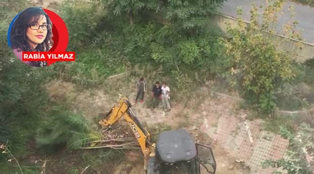 Ranta açılarak DAP Yapı'ya ihale edilen Marmara Üniversitesi arazisinde ağaç katliamı!