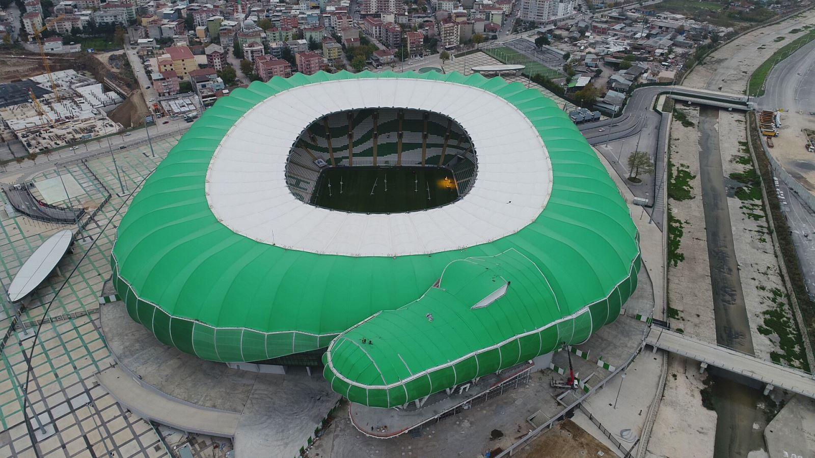Dev Timsah Bursa'yı yuttu: 700 Milyon TL ile Türkiye'nin en pahalı ve bitmeyen ilk stadyumu