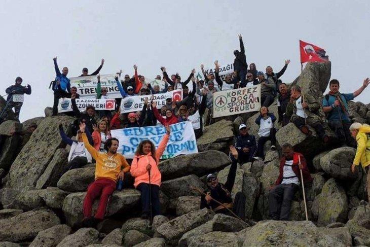 Kaz Dağı'nda RES'lere karşı etkinlikler devam ediyor