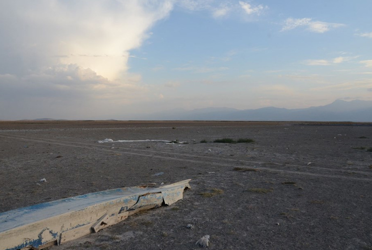 Eber Gölü haritadan silindi