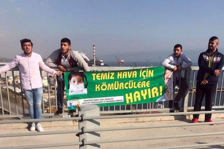 Dilovası için Osmangazi Köprüsü'nde eylem